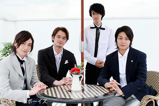 主演の八神蓮さん細貝圭さんのほかに、小田井涼平さん読者モデルの米重晃希さんが共演! 小田井涼平さ