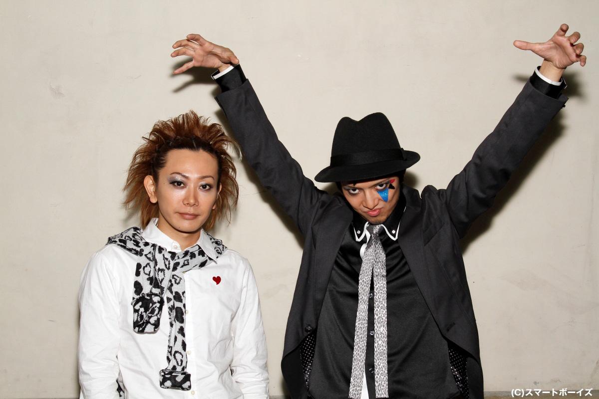役ではテンシのKimeru(左)、アクマの齋藤ヤスカですが……?