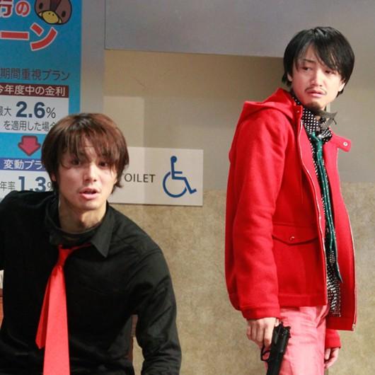 和田琢磨(左)と永山たかし