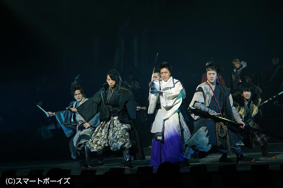 (写真左から)市瀬秀和さん、矢崎広さん、早乙女太一さん、馬場徹さん、山下翔央さん。