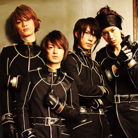 左から小野健斗、松田凌、浜尾京介、太田基裕