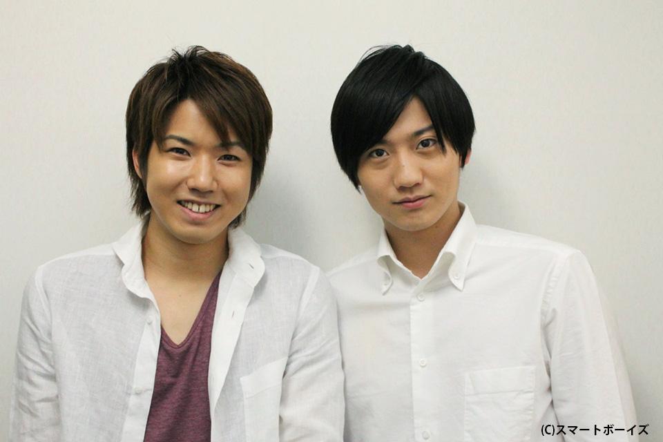 桑野晃輔さん(左)と西島顕人さん