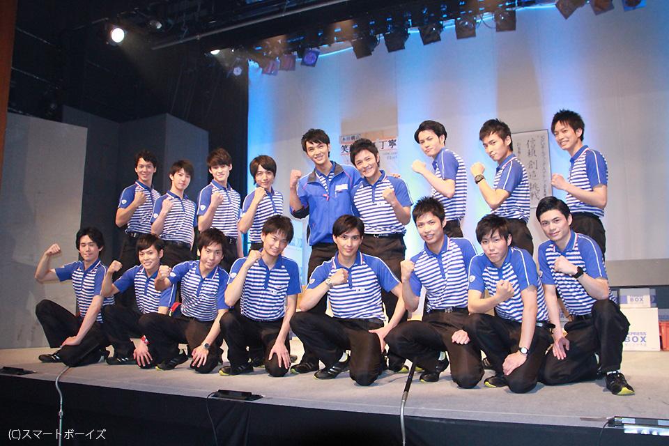 佐川急便の制服姿でイケメン俳優がズラリ!