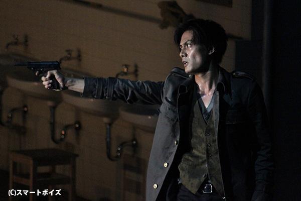 若き将校・キャシオ役の加藤和樹さん