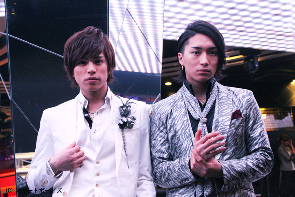 山本裕典さん(左)と松下優也さん