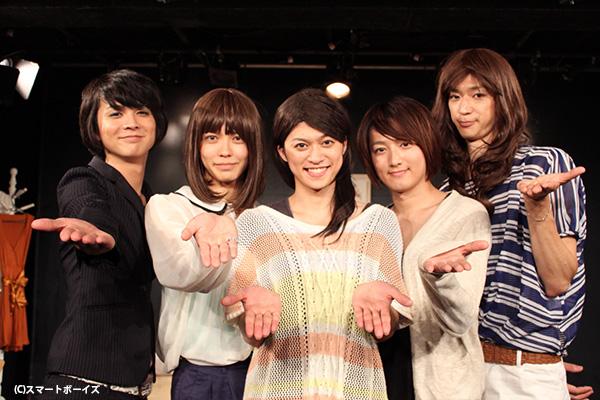 (左より)春日由輝さん、猪塚健太さん、大村学さん、園田玲欧奈さん、株元英彰さん