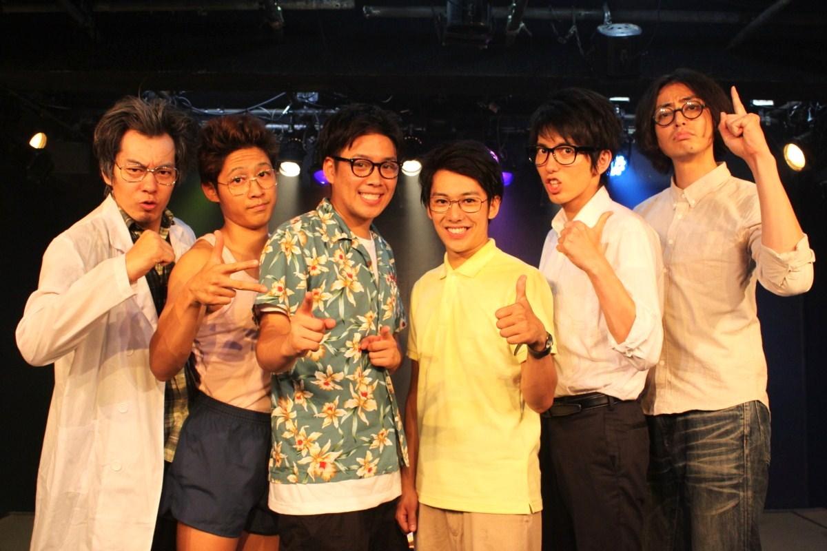 (左より)坂田直貴さん、小池惟紀さん、長尾卓也さん、岩田玲さん、原田新平さん、高頭祐樹さん。