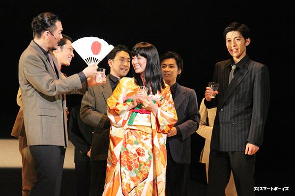 神永圭佑さん、原嶋元久さんも熱演!