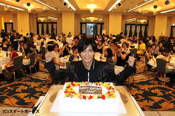 誕生日の5日前に行われた、27歳最後のイベントでした。