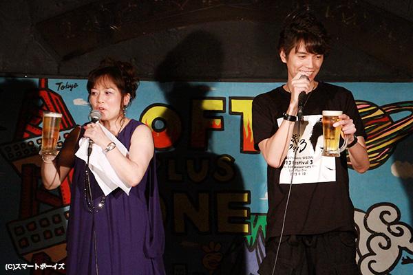 日本特撮党党首の鈴木美潮(みしお)さんがMCを担当