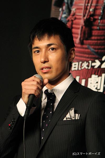 筧十蔵役・高橋光臣さん