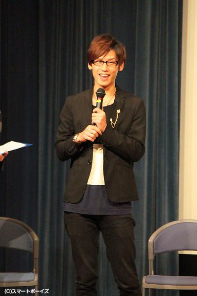 """""""謎の男""""・天野を演じた矢口空さん"""
