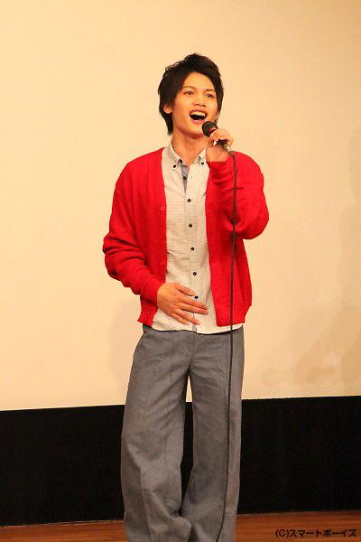 本作のテーマソング『Sky』でアーティストデビューを飾った河原田巧也さん