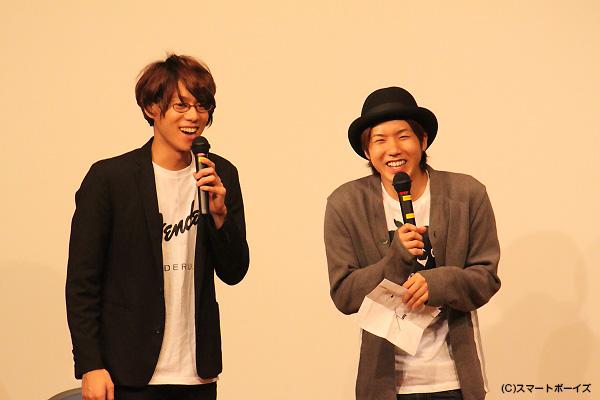 「僕らもアーティストデビューします!」と、年末に行われる『ガチライブ』の意気込みを語った伊勢さん&桑野さん
