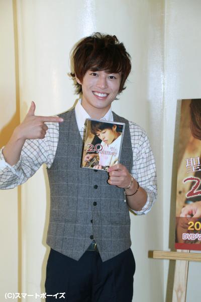 2ndDVD『20 Journey』発売記念イベントを開催した聖也さん