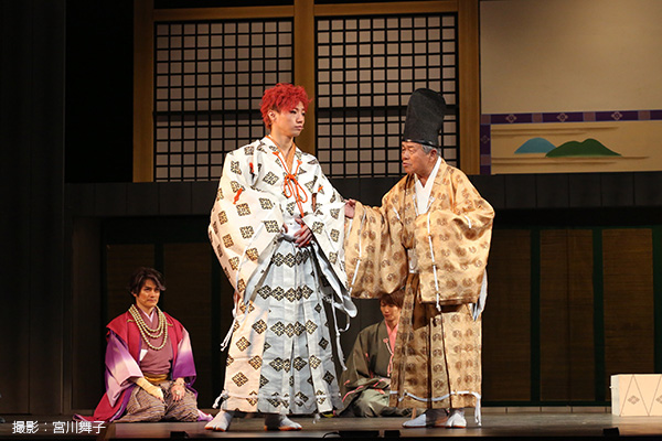 時代を華麗に駆け抜けた悲劇のヒーロー・源義経を演じるのは矢崎広さん(写真中央)