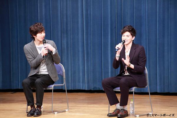 菊池さんがボケて和田さんがツッコむ、漫才のようなトークでした