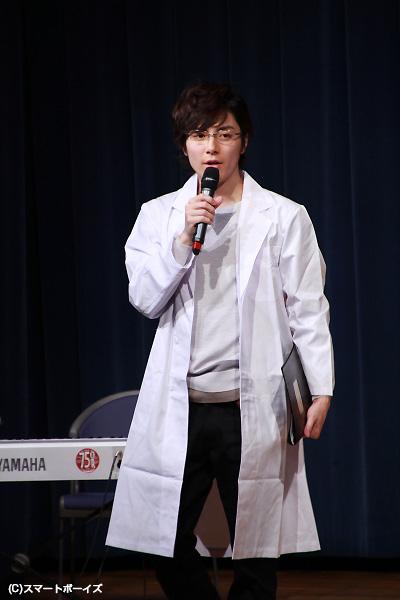 和田さんの白衣&メガネに卒倒!