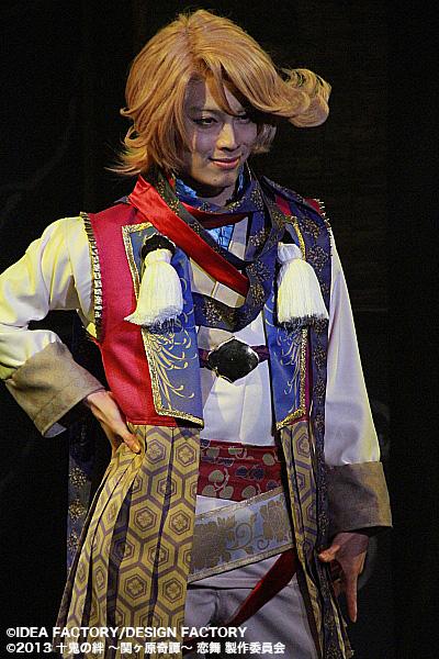宇喜多秀家役の石田知之さん