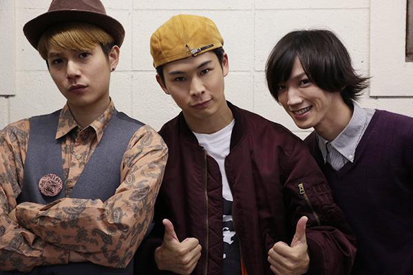 左から平野良さん、林明寛さん、廣瀬大介さん