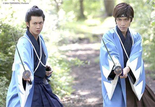 馬場良馬さん(左)と神永圭佑さん