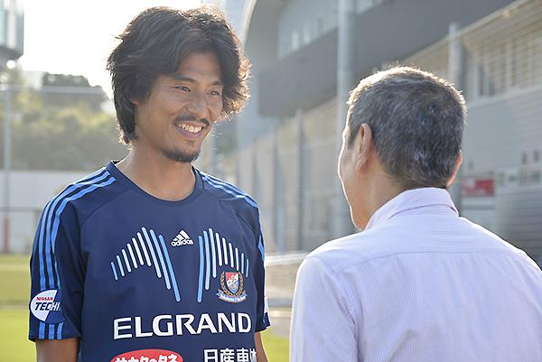 横浜F・マリノスの中澤佑二選手