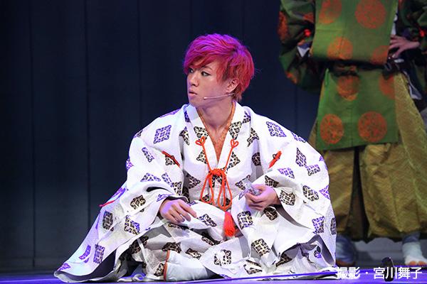 W主演の矢崎広さんは、人々を魅了してやまない伝説のヒーロー・源義経をのびのびと演じていました
