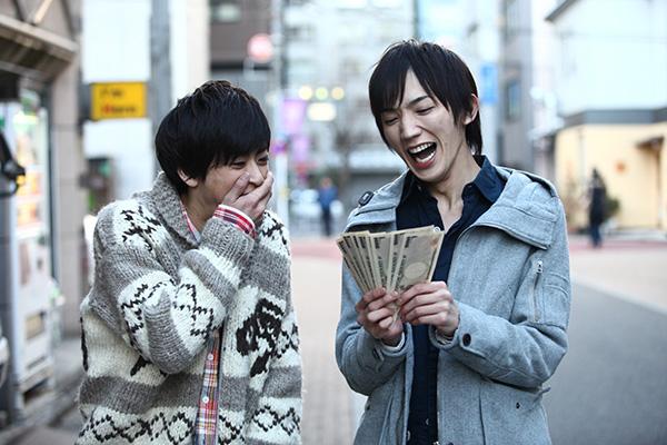 廣瀬大介さん(右)と赤澤燈さん