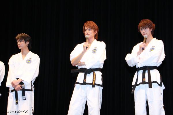 井上さん、馬場さん、浜尾さんの道着姿での揃い踏み