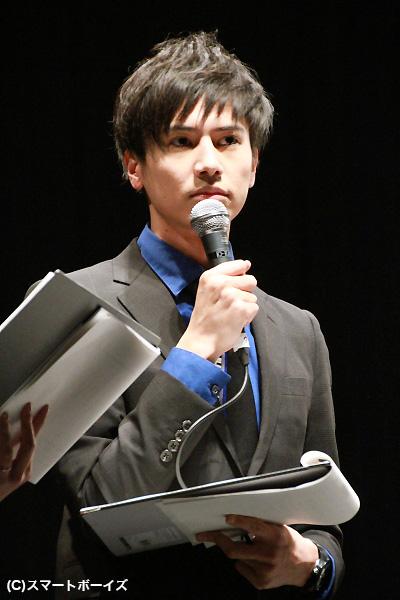 MCとしても登場した辻伊吹さんは、スーツがカッコよかったです