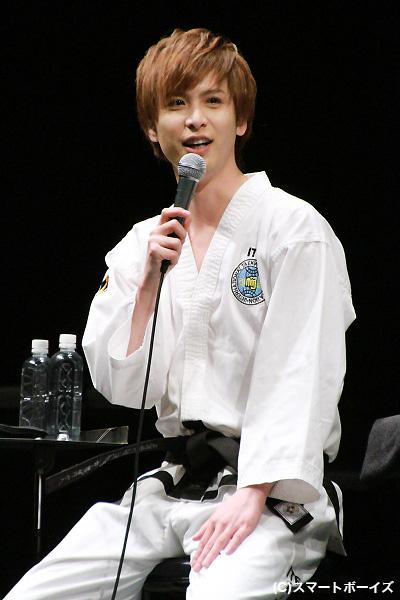 この日テコンドー道着初着用の平田裕一郎さんはイジられまくりでした