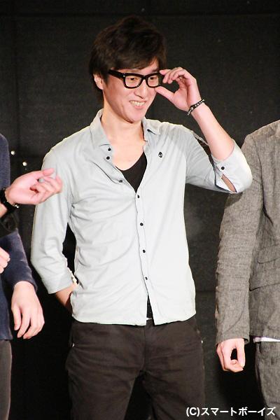 劇団プレステージを引っ張る向野章太郎さん