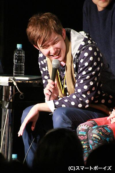 企画・プロデュース・MCをしながら出演もした伊藤陽佑さん