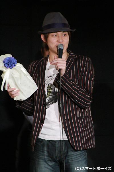 芸達者ぶりを発揮したフッキーこと藤原祐規さん