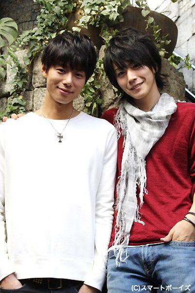 (写真左より)五十嵐麻朝さん、廣瀬智紀さん。この日は「まーくん」「ともちん」と呼び合っていました