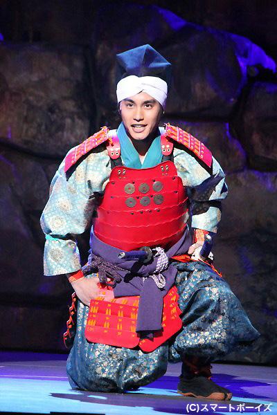 真田大助役 中村蒼さん