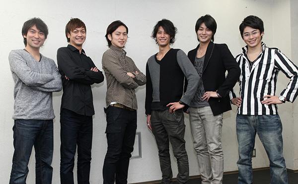 (左から)鷲尾昇さん、海老澤健次さん、川久保拓司さん、林剛史さん、八神蓮さん、林明寛さん