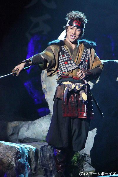 筧十蔵役 高橋光臣さん