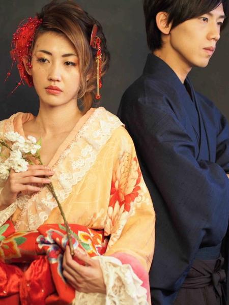 華組の吉原シュートさん(左)と矢口空さん