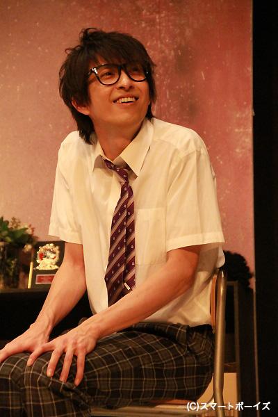 今和泉あゆむ役の吉岡佑さん