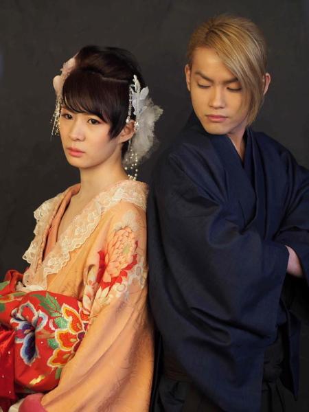 蓮組の森和輝さん(左)と丹野延一さん