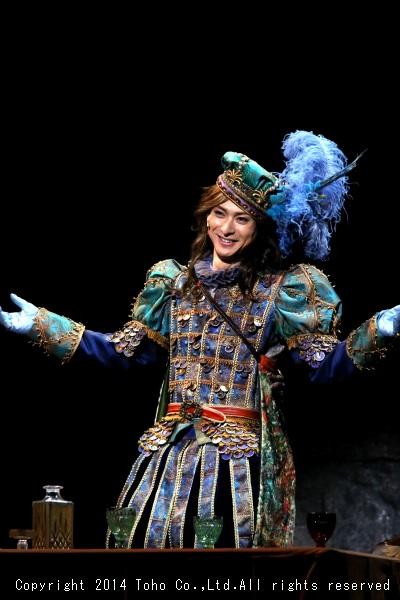 フェリペ皇太子役(Wキャスト)の古川雄大さん