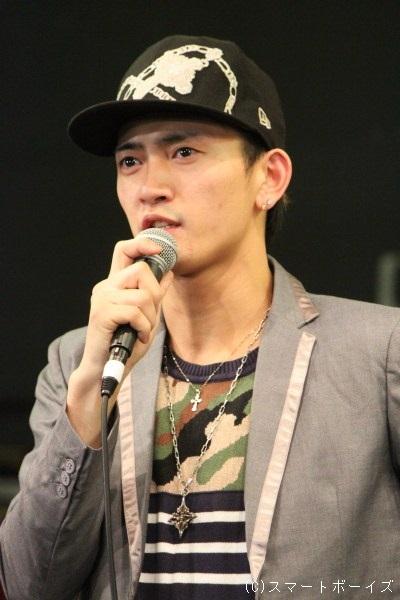 ソニー役の中河内雅貴さん