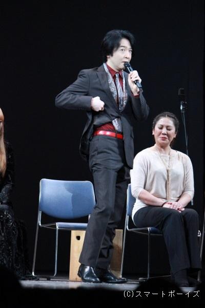 ガーディナー役の石川禅さん