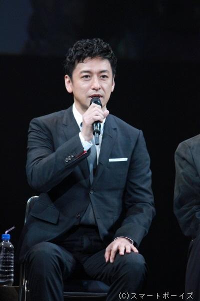 ロジャー・アスカム役(Wキャスト)の石丸幹二さん