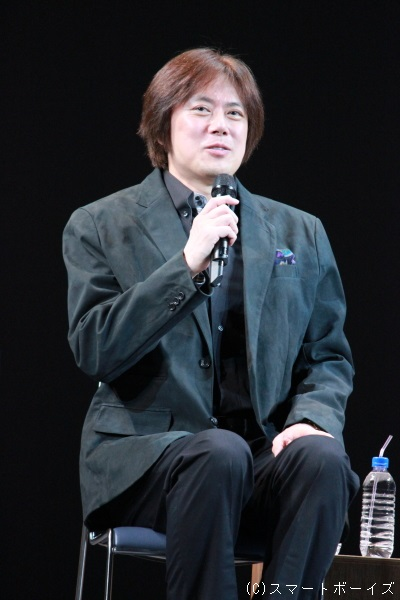 ロジャー・アスカム役(Wキャスト)の山口祐一郎さん