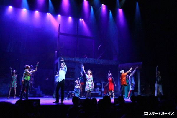 N.Y.を舞台にしたブロードウェイ・ミュージカル!