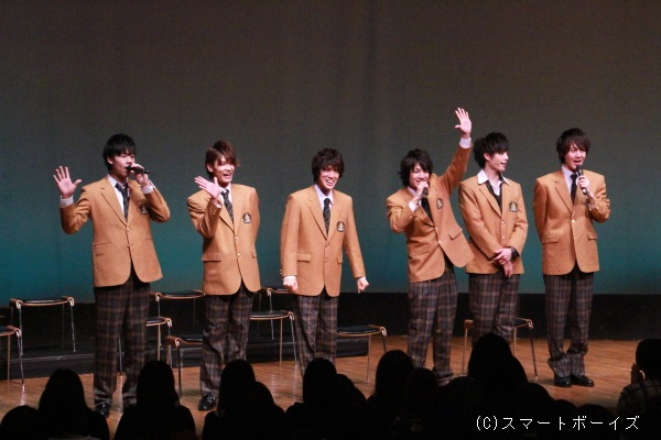 BOYS AND MEN「誠」の6人がイベントを盛り上げてくれました!