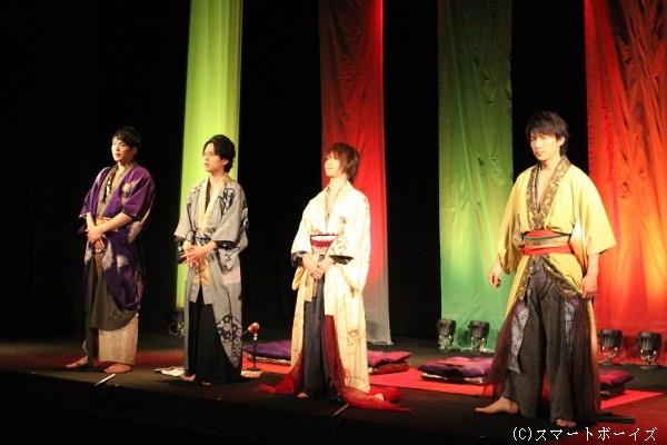 日本の古典文化を若手俳優陣がどのように表現するのか期待が高まります!
