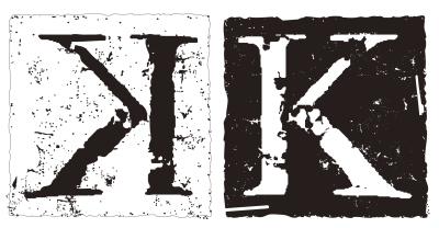 「K」logo